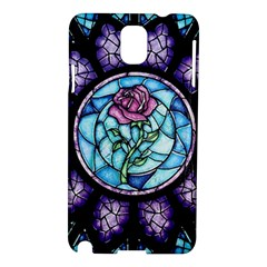 Cathedral Rosette Stained Glass Beauty And The Beast Samsung Galaxy Note 3 N9005 Hardshell Case
