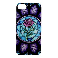 Cathedral Rosette Stained Glass Beauty And The Beast Apple iPhone 5S/ SE Hardshell Case