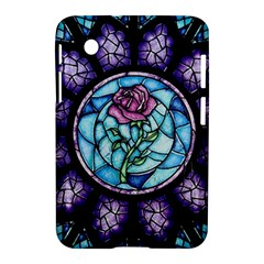 Cathedral Rosette Stained Glass Beauty And The Beast Samsung Galaxy Tab 2 (7 ) P3100 Hardshell Case