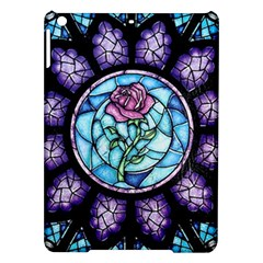 Cathedral Rosette Stained Glass Beauty And The Beast iPad Air Hardshell Cases