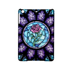 Cathedral Rosette Stained Glass Beauty And The Beast iPad Mini 2 Hardshell Cases