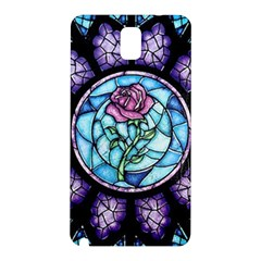 Cathedral Rosette Stained Glass Beauty And The Beast Samsung Galaxy Note 3 N9005 Hardshell Back Case