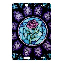 Cathedral Rosette Stained Glass Beauty And The Beast Amazon Kindle Fire HD (2013) Hardshell Case