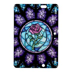 Cathedral Rosette Stained Glass Beauty And The Beast Kindle Fire HDX 8.9  Hardshell Case