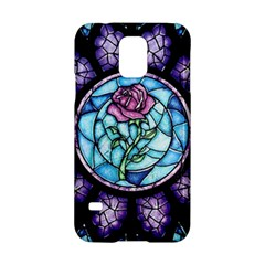 Cathedral Rosette Stained Glass Beauty And The Beast Samsung Galaxy S5 Hardshell Case