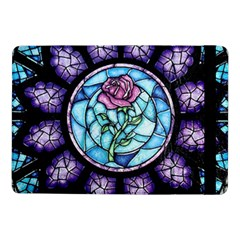 Cathedral Rosette Stained Glass Beauty And The Beast Samsung Galaxy Tab Pro 10.1  Flip Case