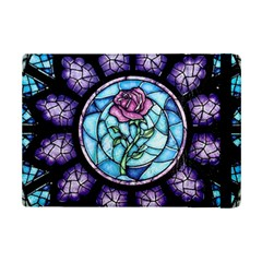 Cathedral Rosette Stained Glass Beauty And The Beast iPad Mini 2 Flip Cases