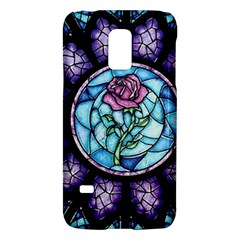 Cathedral Rosette Stained Glass Beauty And The Beast Galaxy S5 Mini