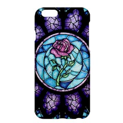 Cathedral Rosette Stained Glass Beauty And The Beast Apple Iphone 6 Plus/6s Plus Hardshell Case