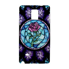 Cathedral Rosette Stained Glass Beauty And The Beast Samsung Galaxy Note 4 Hardshell Case