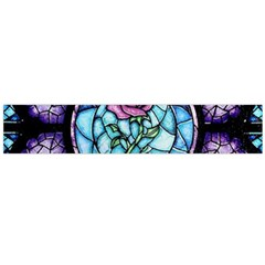 Cathedral Rosette Stained Glass Beauty And The Beast Flano Scarf (Large)