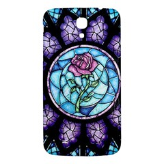 Cathedral Rosette Stained Glass Beauty And The Beast Samsung Galaxy Mega I9200 Hardshell Back Case