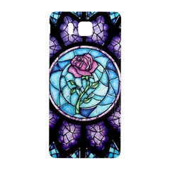 Cathedral Rosette Stained Glass Beauty And The Beast Samsung Galaxy Alpha Hardshell Back Case