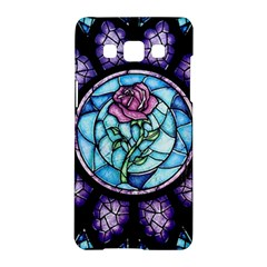 Cathedral Rosette Stained Glass Beauty And The Beast Samsung Galaxy A5 Hardshell Case