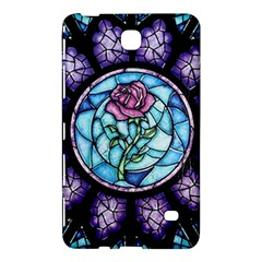 Cathedral Rosette Stained Glass Beauty And The Beast Samsung Galaxy Tab 4 (7 ) Hardshell Case