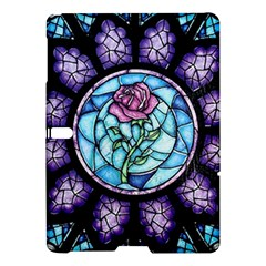 Cathedral Rosette Stained Glass Beauty And The Beast Samsung Galaxy Tab S (10.5 ) Hardshell Case