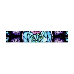 Cathedral Rosette Stained Glass Beauty And The Beast Flano Scarf (Mini)