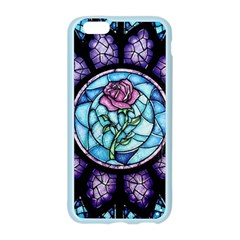 Cathedral Rosette Stained Glass Beauty And The Beast Apple Seamless iPhone 6/6S Case (Color)