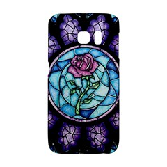Cathedral Rosette Stained Glass Beauty And The Beast Galaxy S6 Edge
