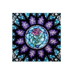 Cathedral Rosette Stained Glass Beauty And The Beast Satin Bandana Scarf