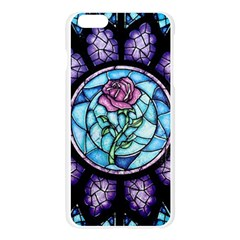 Cathedral Rosette Stained Glass Beauty And The Beast Apple Seamless iPhone 6 Plus/6S Plus Case (Transparent)