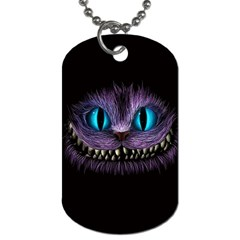 Cheshire Cat Animation Dog Tag (one Side)