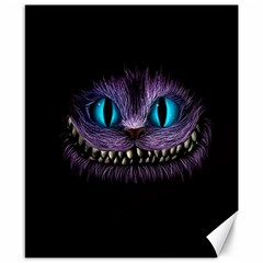 Cheshire Cat Animation Canvas 8  X 10