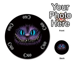 Cheshire Cat Animation Playing Cards 54 (round)
