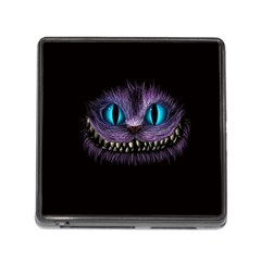 Cheshire Cat Animation Memory Card Reader (square)