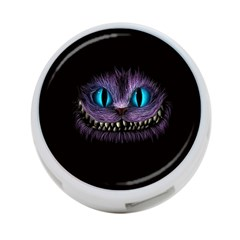 Cheshire Cat Animation 4 Port Usb Hub (two Sides)