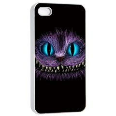 Cheshire Cat Animation Apple Iphone 4/4s Seamless Case (white)