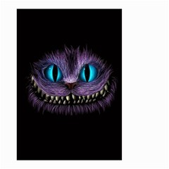 Cheshire Cat Animation Small Garden Flag (two Sides)