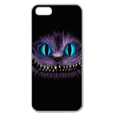 Cheshire Cat Animation Apple Seamless Iphone 5 Case (clear)
