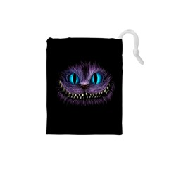 Cheshire Cat Animation Drawstring Pouches (small)