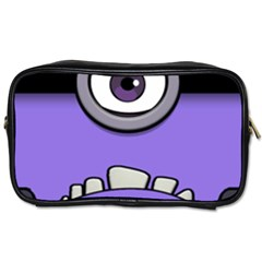Evil Purple Toiletries Bags
