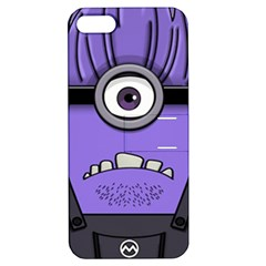 Evil Purple Apple Iphone 5 Hardshell Case With Stand