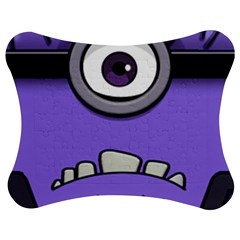 Evil Purple Jigsaw Puzzle Photo Stand (bow)