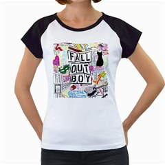 Fall Out Boy Lyric Art Women s Cap Sleeve T