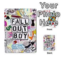 Fall Out Boy Lyric Art Playing Cards 54 Designs