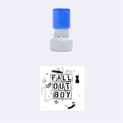 Fall Out Boy Lyric Art Rubber Round Stamps (Small)