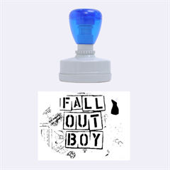 Fall Out Boy Lyric Art Rubber Oval Stamps