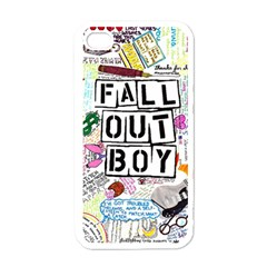 Fall Out Boy Lyric Art Apple Iphone 4 Case (white)