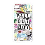 Fall Out Boy Lyric Art Apple iPhone 4 Case (White) Front