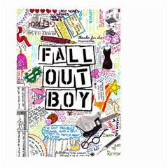 Fall Out Boy Lyric Art Large Garden Flag (two Sides)
