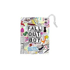 Fall Out Boy Lyric Art Drawstring Pouches (xs)