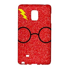 Glasses And Lightning Glitter Galaxy Note Edge
