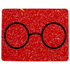 Glasses And Lightning Glitter Jigsaw Puzzle Photo Stand (rectangular)