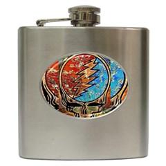 Grateful Dead Rock Band Hip Flask (6 Oz)