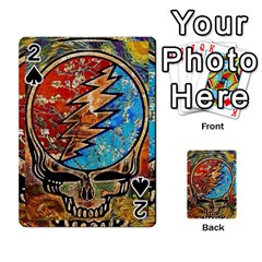 Grateful Dead Rock Band Playing Cards 54 Designs