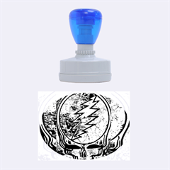 Grateful Dead Rock Band Rubber Oval Stamps